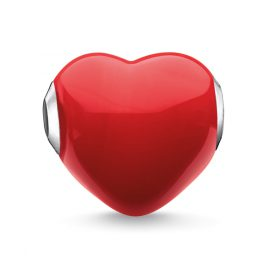 Thomas Sabo K0275-017-10 Bead Glass Heart Red