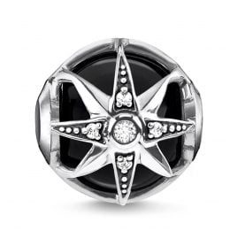 Thomas Sabo K0308-641-11 Bead Royalty Stern Schwarz