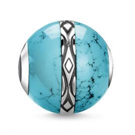 Thomas Sabo K0325-878-17 Bead Ornament Turquoise