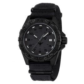 KHS REXT.NXT1 Mens Watch Reaper XTAC Natoband Black with emblem