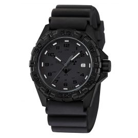 KHS REXT.DB Mens Watch Reaper XTAC with Diver Strap Black