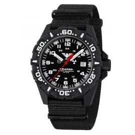 KHS RE2F.NB Men's Watch with Textile Strap Reaper MKII