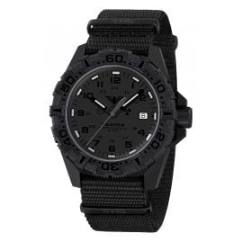 KHS RE2XTF.NB Men's Watch with Textile Strap Black Reaper MKII XTAC