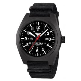 KHS INCBS.NB Men's Watch Inceptor Black Steel