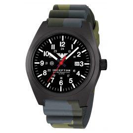 KHS INCBS.DC3 Herren-Armbanduhr Inceptor Black Steel