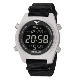 KHS KHS.INCSD.NB Men's Wristwatch Inceptor Steel Digital