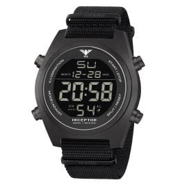 KHS KHS.INCBSD.NB Men's Watch Inceptor Steel Digital