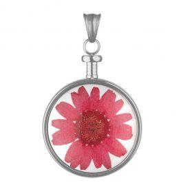 Blumenkind BL01MSSRE Blumen-Anhänger Rot
