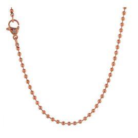 Blumenkind SC072R Damen-Halskette Rosé