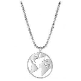 Blumenkind WBN01SS Damen-Halskette Weltenbummler