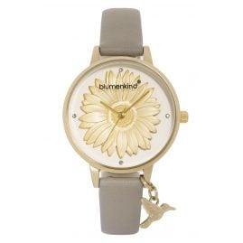 Blumenkind 04091981GWHPGR Damenuhr Gold/Kaschmirgrau