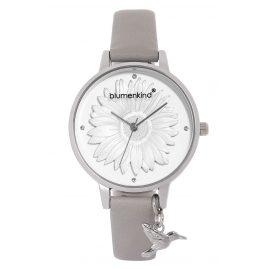 Blumenkind 04091981SWHPGR Damenarmbanduhr Silber/Kaschmirgrau