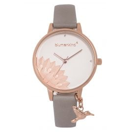 Blumenkind 13121989RWHPGR Ladies' Wristwatch Pennsylvania Rose Gold/Cashmere Grey