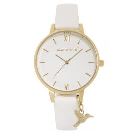 Blumenkind 20021988GWHPWH Ladies' Wrist Watch Gold/White