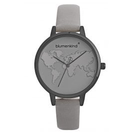 Blumenkind 07031985GRGRPGR Ladies' Wristwatch Grey