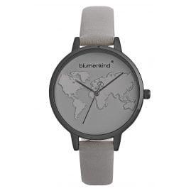 Blumenkind 07031985GRGRPGR Damen-Armbanduhr Grau