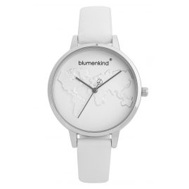 Blumenkind 07031985SWHPWH Ladies' Watch White/Grey