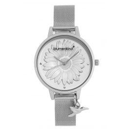 Blumenkind 04091981SWHSS Damenuhr Houston mit Mesh-Armband Silberfarben