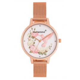 Blumenkind 15081969RWHSSRO Ladies' Watch Woodstock with Mesh Bracelet