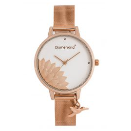 Blumenkind 13121989RWHSSRO Ladies' Watch Pennsylvania with Mesh Band