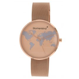 Blumenkind BKU1RSSRO Women's Watch Globetrotter rose