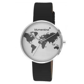 Blumenkind BKU1SPBK Damen-Armbanduhr Weltenbummler schwarz
