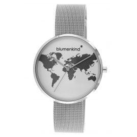 Blumenkind BKU1SSS Ladies' Wristwatch Globetrotter silver
