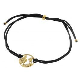 Blumenkind WBB01GO Women's Bracelet Globetrotter Gold-Coloured