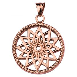 Traumfänger TF01SRO Dreamcatcher Pendant Star Rose S