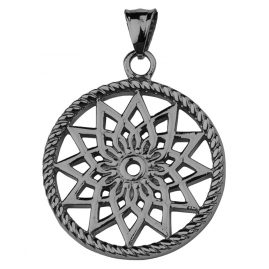 Traumfänger TF01SGR Dreamcatcher Pendant Star Grey S