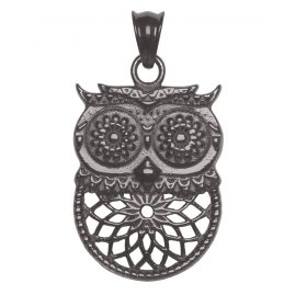 Traumfänger TF10MBK Necklace Pendant Owl