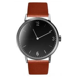 Kanske Denmark 313 Armbanduhr Sincere Silberfarben/Cognac