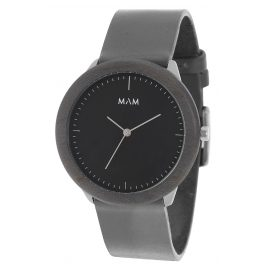 MAM Originals 78 Mens Wrist Watch Stainless Dark Maple Graphite
