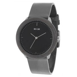 MAM Originals 78 Herrenarmbanduhr Stainless Dark Maple Graphite