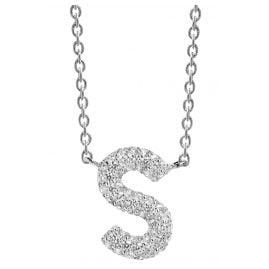 Sif Jakobs Jewellery SJ-C00S-CZ Necklace Novoli S