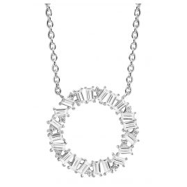 Sif Jakobs Jewellery SJ-C0163-CZ Necklace Antelle Circolo Grande