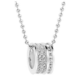 Sif Jakobs Jewellery SJ-P1028-CZ Ladies Necklace Corte Piccolo