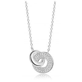 Sif Jakobs Jewellery SJ-C1052-CZ Silver Ladies' Necklace Valiano Due
