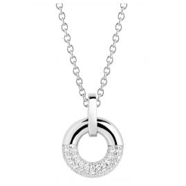 Sif Jakobs Jewellery SJ-P2998-CZ-45 Ladies' Necklace Cannara Silver