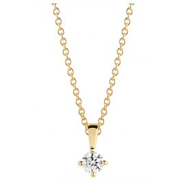 Sif Jakobs Jewellery SJ-P4MMRD-CZ-YG-45 Ladies´ Necklace Princess Piccolo Gold-Plated