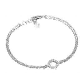 Sif Jakobs Jewellery SJ-B337(1)-CZ Silber-Armband Biella Piccolo