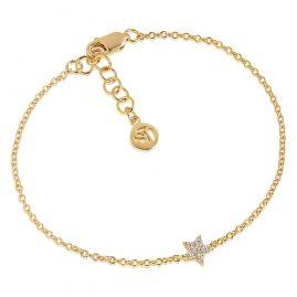 Sif Jakobs Jewellery SJ-B2947-CZ(YG) Damen-Silberarmband Mira Vergoldet