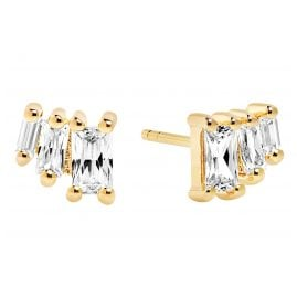 Sif Jakobs Jewellery SJ-E1045-CZ(YG) Earrings Antella Tre