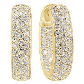 Sif Jakobs Jewellery SJ-E1857-CZ(YG) Damen-Ohrringe Imperia