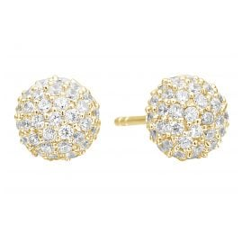 Sif Jakobs Jewellery SJ-E2104-CZ(YG) Earrings Bobbio