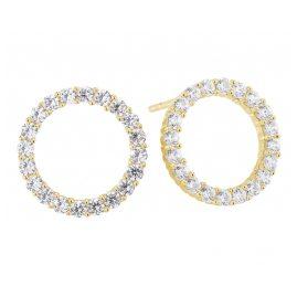 Sif Jakobs Jewellery SJ-E338-CZ(YG) Ohrringe Biella Uno Gold