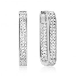 Sif Jakobs Jewellery SJ-E1064-CZ Silber-Ohrringe Matera Grande