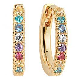 Sif Jakobs Jewellery SJ-E2859-XCZ(YG) Ohrringe Creolen Ellera