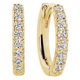 Sif Jakobs Jewellery SJ-E2859-CZ(YG) Ohrringe Creolen Ellera