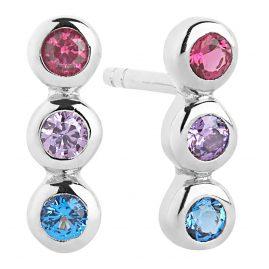 Sif Jakobs Jewellery SJ-E2640-XCZ Silber Damen-Ohrringe Sardinien Tre Piccolo